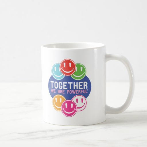 TOGETHER Faces Coffee Mugs