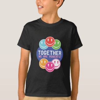 TOGETHER Faces T-shirts