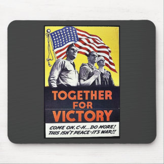 Together For Victory Mouse Pad