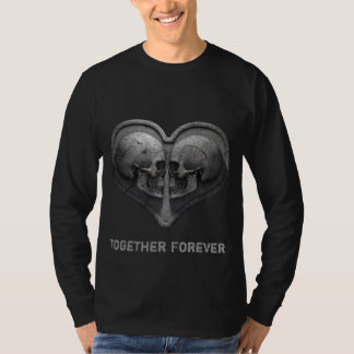 Together Forever Black Long Sleeve T-Shirt