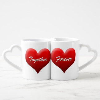 """""""Together Forever"""" Lover's Mug Set"""