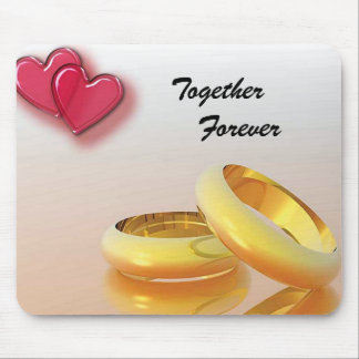 Together Forever Mouse Pad