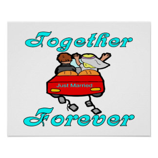 Together Forever Newlyweds Poster