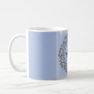 Together Forever romantic lace mug, beautiful! Coffee Mug