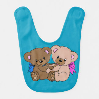 Together Forever Teddy Bear Bib