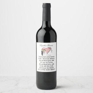 Together Forever Wine Label