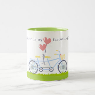 Together Is My Favourite Place To Be Mug