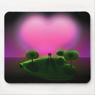 Together on Lover s Island Mousepad