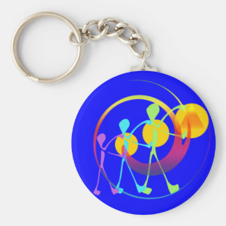 Together one in rainbow light key ring