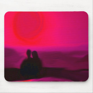 together red mouse pad