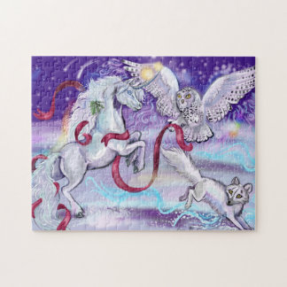Together we are One Unicorn Jigsaw Puzzle