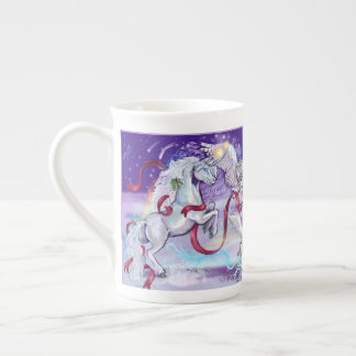 Together we are One Unicorn Tea Cup