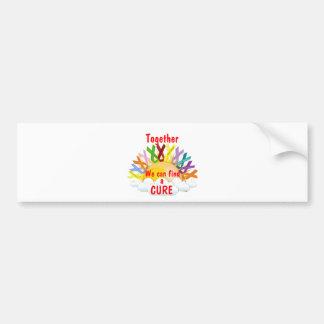 Together we can find a CURE Bumper Sticker