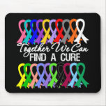 Together We Can Find a Cure Cancer Ribbons
