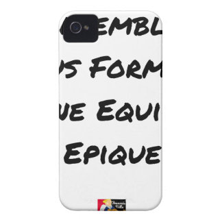 TOGETHER, WE TRAIN AN EPIC TEAM iPhone 4 CASE