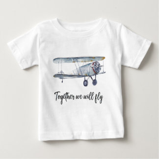 Together we will fly baby T-Shirt