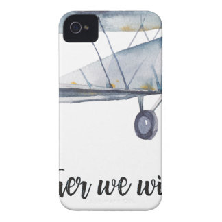 Together we will fly Case-Mate iPhone 4 case