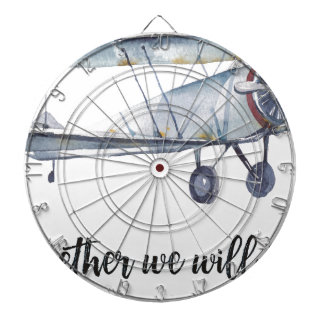 Together we will fly dartboard