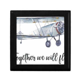 Together we will fly gift box