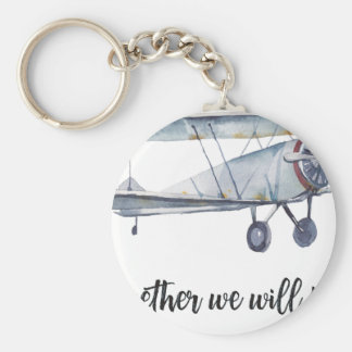 Together we will fly key ring