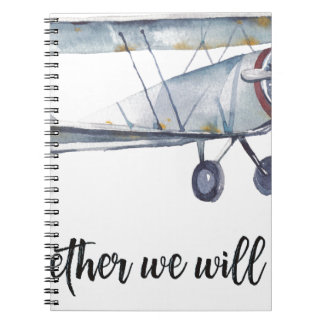 Together we will fly notebook