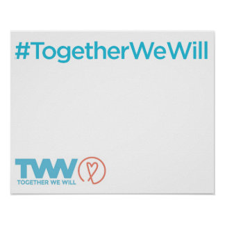Together We Will San Diego March Posters