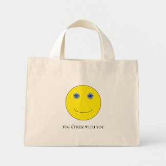 Together with you mini tote bag