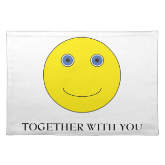 Together with you place mats