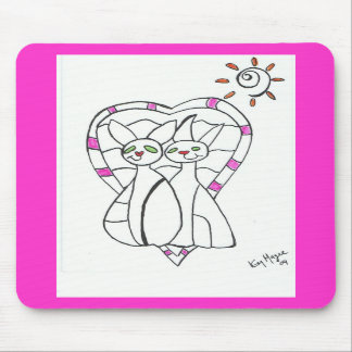 togetherness Mouse Mat Mouse Pad