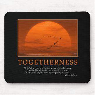 Togetherness Mousepad