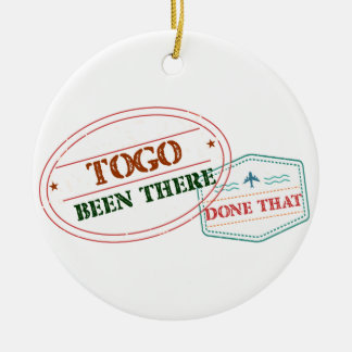 Togo Been There Done That Ceramic Ornament