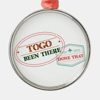 Togo Been There Done That Metal Ornament