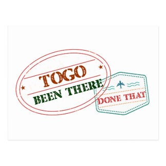 Togo Been There Done That Postcard