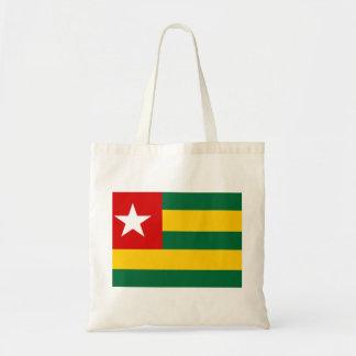 togo country flag nation symbol budget tote bag