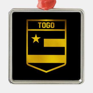 Togo Emblem Metal Ornament