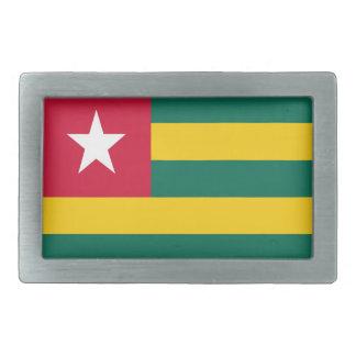Togo flag belt buckle