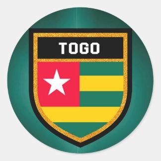 Togo Flag Classic Round Sticker