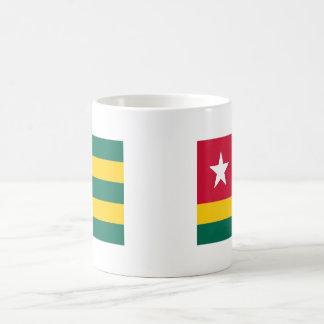 Togo flag coffee mug