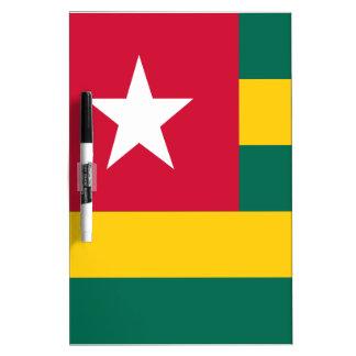 Togo flag dry erase board