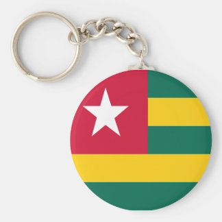 Togo flag key ring