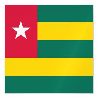 Togo Flag Magnetic Card