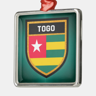 Togo Flag Metal Ornament