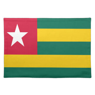 Togo flag placemat