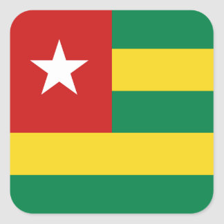 Togo Flag Sticker
