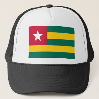 Togo flag trucker hat