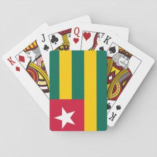Togo National World Flag Playing Cards