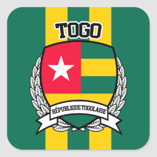 Togo Square Sticker