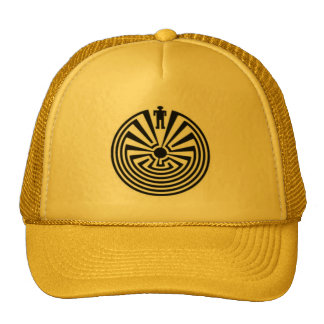 Tohono O'odham HOPI Pima Man in the MAZE HAT
