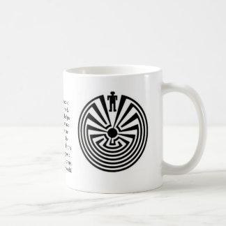 Tohono O'odham Man in the Maze Coffe MUG