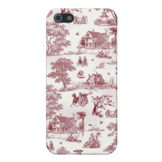 Toile De Jouy - Vintage Afternoon iPhone 5/5S Case